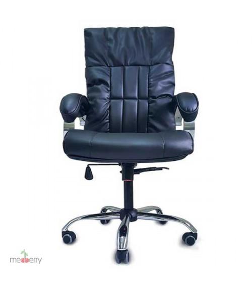 Офисное массажное кресло EGO BOSS Lux Антрацит