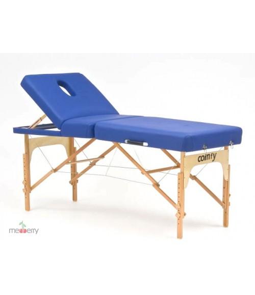 Массажный стол складной деревянный трехсекционный JFMS03R